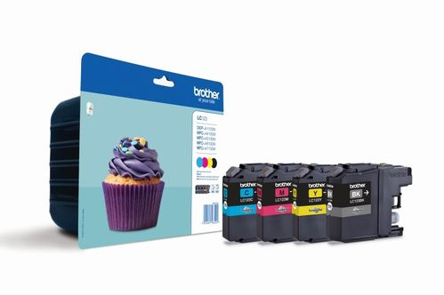 Cartucho de tinta multipack BROTHER MFC-J4410, J4510 - Negro-Cyan-Magenta-Yellow