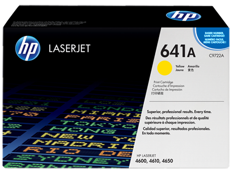 641A Toner Color Yellow HP Laserjet 4600-4610-4650