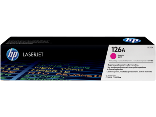 126A Toner Color Magenta HP Laserjet CP1025, 1.000 páginas