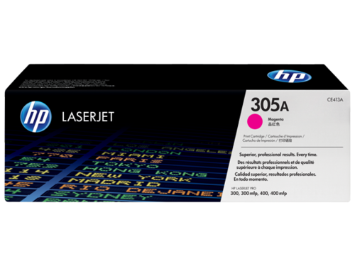 305A Toner Color Magenta HP Laserjet M351-M375-M451-M475, 2.600 copias