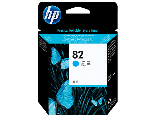 82 Tinta Color Cyan HP DESIGJET 10-20-50-120-500-800 (69 ml.)