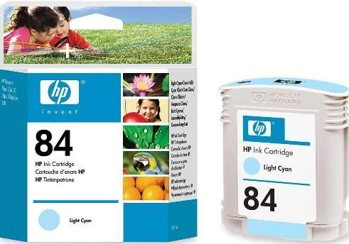 84 Tinta Color Cyan HP DESIGJET 10-20-50-120-130 (69 ml.)