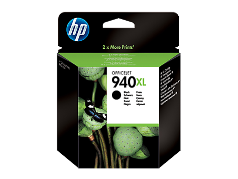 940XL Tinta Negra HP Officejet  8000-8500 ( 2.200 Paginas )