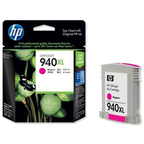 940XL Tinta Color Magenta HP Officejet  8000-8500 ( 1.400 Paginas )