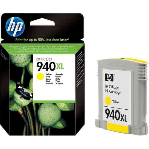 940XL Tinta Color Amarillo HP Officejet  8000-8500  ( 1.400 Paginas )
