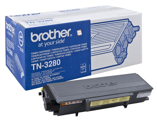 Toner Negro BROTHER HL-5340-HL-5350-HL-5370-HL-5280 / DCP-8085 - 8.000 Paginas