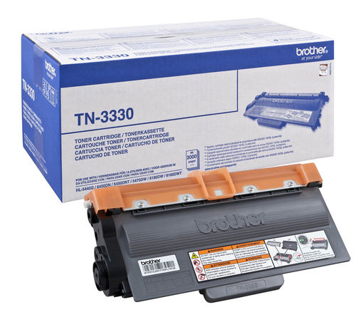 Toner Negro BROTHER HL-5440-5450-5470-MFC8510, 3.000 Páginas
