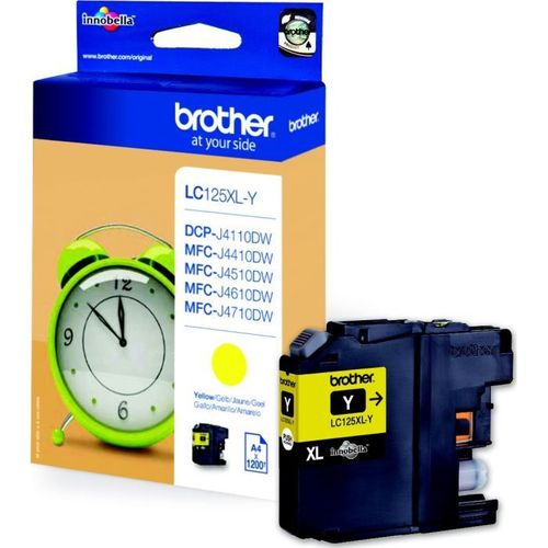 Cartucho de tinta BROTHER MFC-J4410, J4510 - XL Yellow