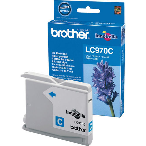 Cartucho de tinta cyan BROTHER DCP135, DCP150 - MFC235, MFC260