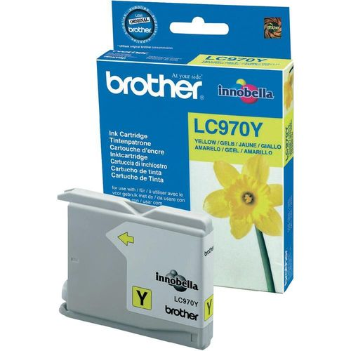 Cartucho de tinta yellow BROTHER DCP135, DCP150 - MFC235, MFC260