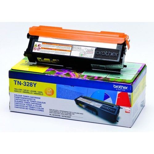 Toner Color Amarillo Brother HL-4570, DCP-9270, MFC-9970, 6.000 Páginas