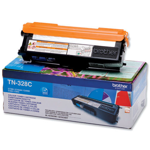 Toner Color Cyan Brother HL-4570, DCP-9270, MFC-9970, 6.000 Páginas