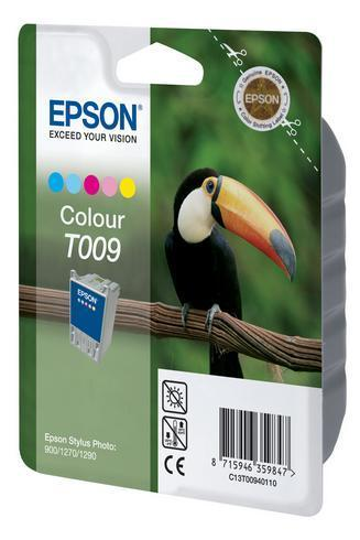 T009 Cartucho de Tinta EPSON STYLUS PHOTO 900-1270-1290 COLOR