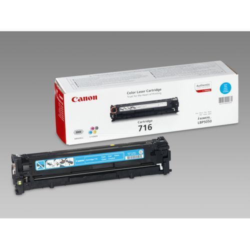 Toner Color Cyan Canon Nº 716C LBP-5050, MF-8030, 8040, 8050, 8080 ( 1.500 Paginas )