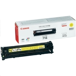 Toner Color Yellow Canon Nº 716Y  LBP-5050, MF-8030, 8040, 8050, 8080 ( 1.500 Paginas )
