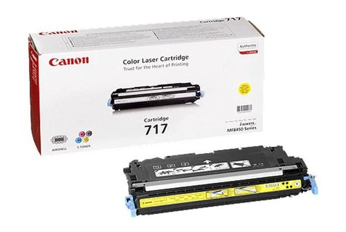 Toner Color Yellow Canon Nº 717Y  MF-8450, 9130, 9170  ( 4.000 Paginas )