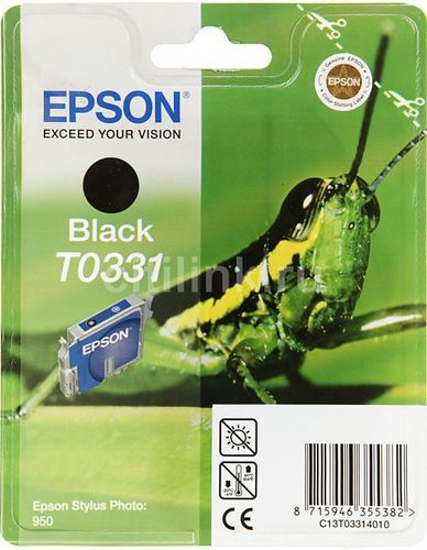 T0331 Cartucho de Tinta EPSON STYLUS PHOTO 950 NEGRO