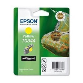T0344 Cartucho de Tinta EPSON STYLUS PHOTO 2100 AMARILLO