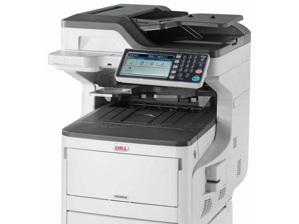 Impresora Multifunción Láser Color OKI MC853DNCT FAX DIN A3