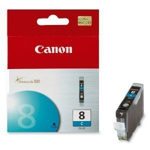 8 - Cartucho de Tinta CANON IP3300, 4200, 4300, 5200, 5300, MP530 CYAN