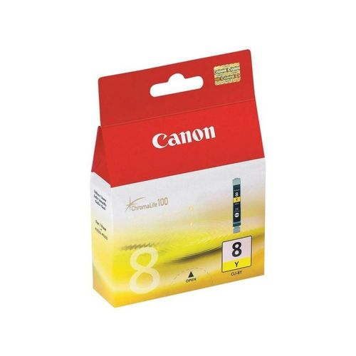 8 - Cartucho de Tinta CANON IP3300, 4200, 4300, 5200, 5300, MP530 AMARILLO