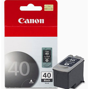 40 - Cartucho de Tinta CANON IP1600, 2200, MP150, 170, 450 NEGRO