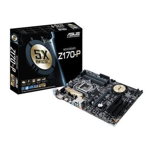 Placa Base Asus Z170-P ATX Socket 1151 USB 3.0 HDMI DDR4