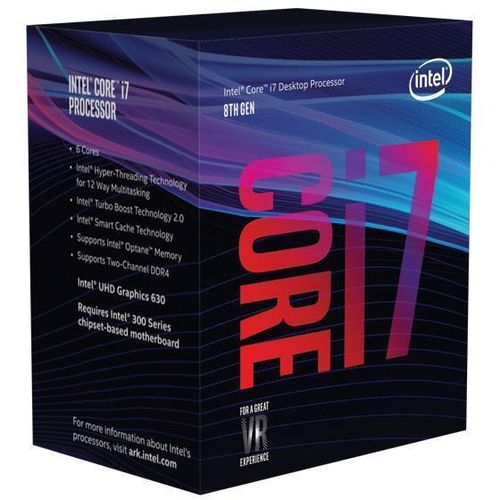 Intel Core I7-8700 a 3,2Ghz. Socket 1151 BOX