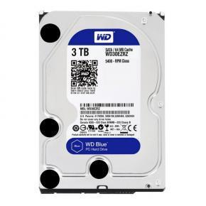 "Disco Duro Interno W.D. 3,5"" Sata 3Tb. Blue"