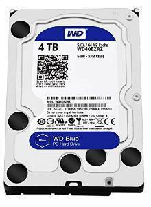 "Disco Duro Interno W.D. 3,5"" Sata 4Tb. Blue"