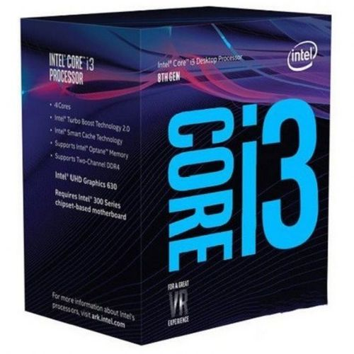 Intel Core I3-8100 a 3,6Ghz. Socket 1151 BOX